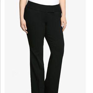 🆕 NWT Torrid Relaxed Trouser Black Dress Pants